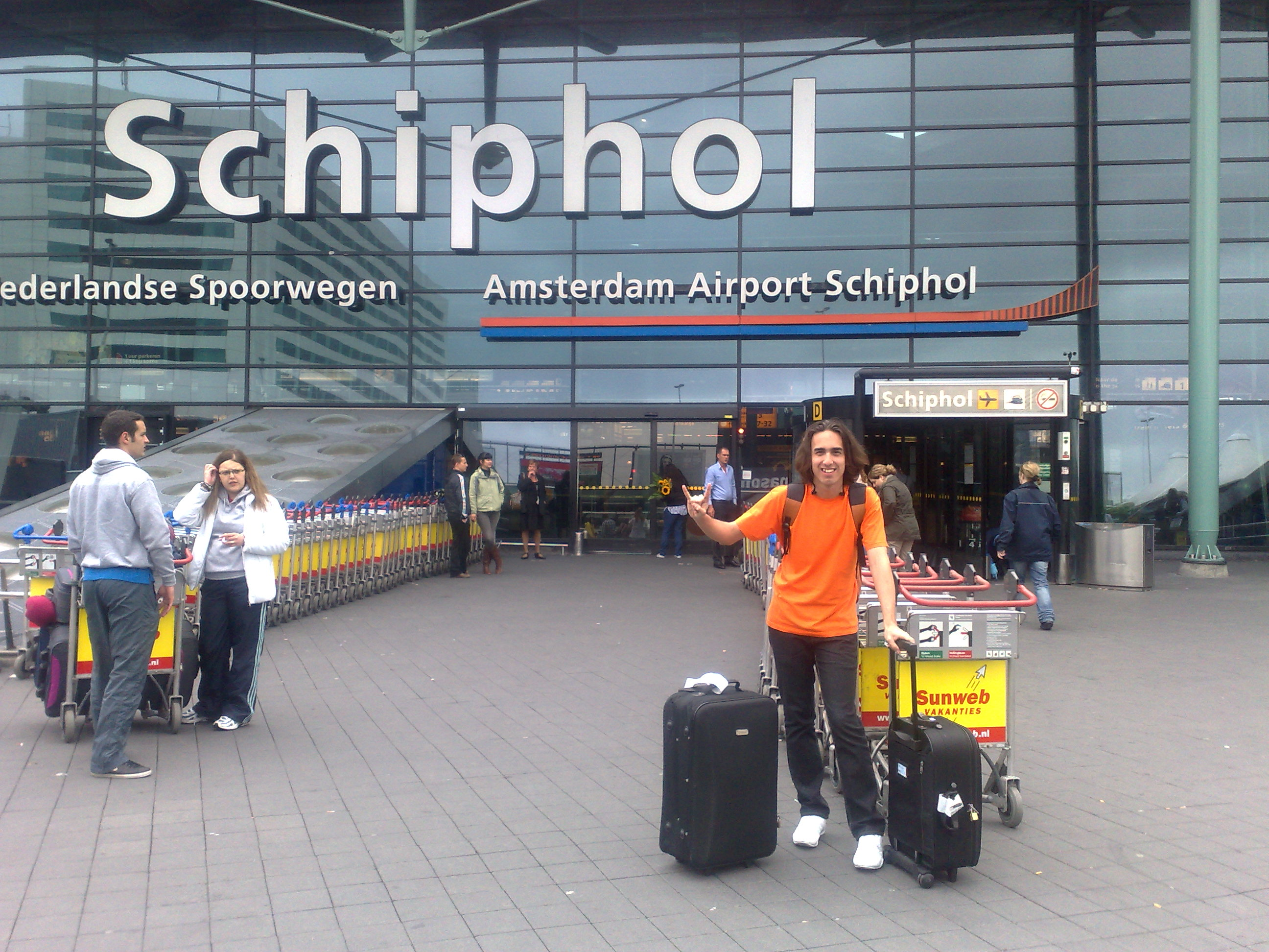 International Airport Schiphol Amsterdam - Target reached!